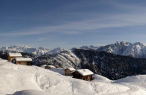 Het zwitserse skigebied Belalp ligt op de Aletschgletsjer in Wallis.