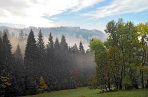 Wandelen in Beskiden - een Tsjechisch middengebergte. Foto Paul Hesp