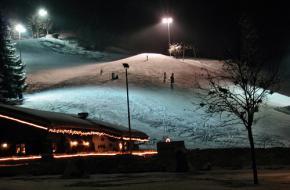 Reit im Winkl bij nacht