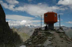 Bivak in de Alpen