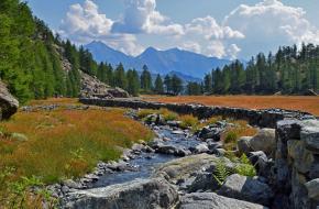 Wandelen in Parco Naturale Mont Avic