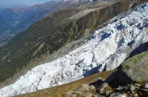 Foto: Patrick Nouhailler. Bossons Glacier Mont Blanc