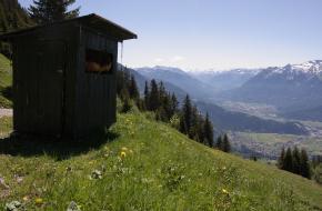 Jagershutje in Bregenzerwald. Foto Stefan Munder