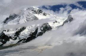 Belediging van de Breithorn en Theodulgletsjer - Wallis - Zwitserland