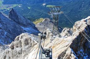 Kabelbaan op de Zugspitze