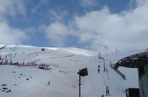 Het skigebied CairnGorm in Schotland