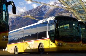 Openbaar vervoer Alpen