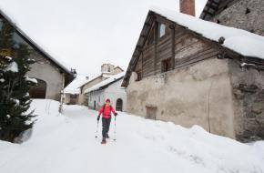 Winterwandelen rond Montgenèvre en Serre Chevalier