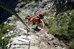 inleiding klettersteigen