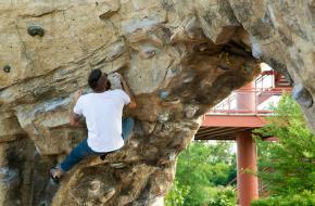 klimmen, verticaal, rotswand