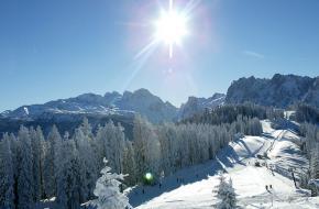 Het skigebied Dachstein-West is het grootste gebied in Oberösterreich
