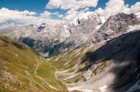 De 7 hoogste bergpassen in de alpen.