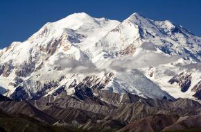 Denali Mount McKinley. Foto van Unhindered by Talent