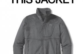 Campagne van Patagonia Don't buy this jacket