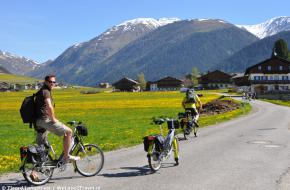 Fietsen in Zuid-Tirol. Foto Tjeerd Langstra