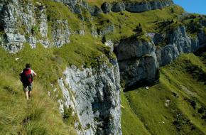 Wandelen in de Bellunese Dolomieten. Foto Frank Peters