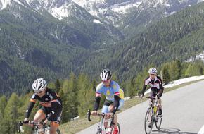 Fietsmarathon in de Oostenrijkse bergen Foto badkleinkirchheim