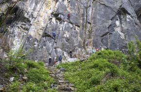 klimgebied Rocher de Flône