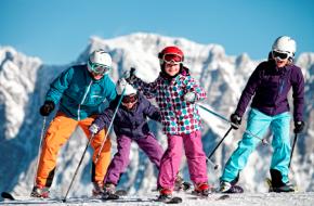 Foto Familieplezier op de pistes van Grubigstein - Lermoos