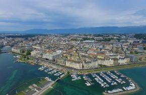 Vliegvakantie naar Geneve