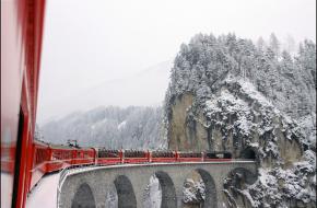 Glacier Express. Foto: Germán Saavedra Rojas