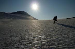 ijs archeologie noorwegen