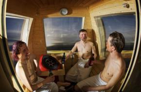 Het Finse Ylläs heeft een gondel van de skilift omgebouwd tot sauna
