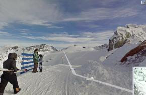 Printscreen Google streetview
