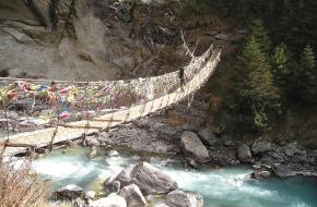 Bergwandelen in de Himalaya