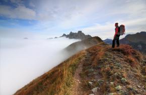 Wandelen over de Hochschwab. Foto Jonathan Vandevoorde