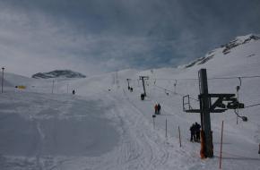 Wintersport op de Zugspitze