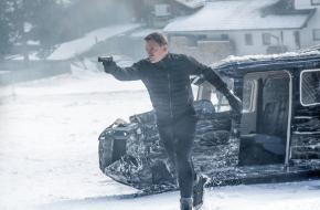 Promotiefoto James Bond in Tirol