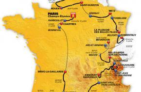 Schema Tour de France 2012