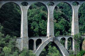 Met de Kanarie door de  Franse Pyreneeën. foto T Joosten