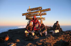 Kilimanjaro. Foto Birger Kühnel