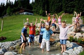Kinderen in wildschonau. Foto Drakenclub Wildschönau - ©TVB Wildschönau