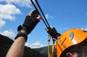 Klettersteigen in het Zwarte Woud in Duitsland