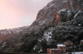 Het Klooster van Montserrat. foto mex,Maagd van Monsterrat,