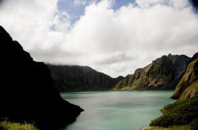 Kratermeer Mount Pinatubo
