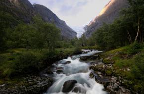 Land of glaciers - Noorwegen. Foto Bas van Laarhoven
