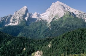 De Watzmann: Foto Nationalpark Berchtesgaden