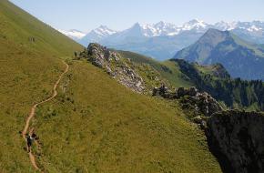 Het landschap rondom de Jungfrau. Foto Vasile23