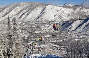 Skigebied zonder skiliften