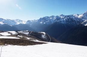 sneeuw helikopter luchon