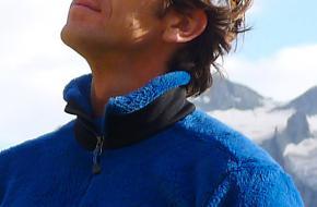 Portret van berggids Martijn Schell