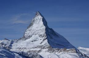 De beroemde Matterhorn in Zwitserland. Foto alex.ch