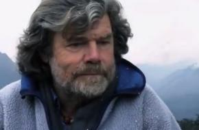Screenshot uit de film Messner