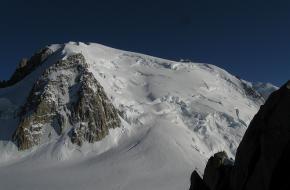 Mont Blanc/ Mont Maudit in de Franse Alpen. Foto Ai@ce