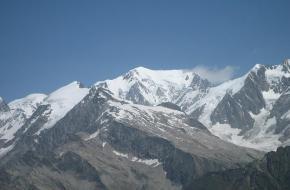 De top van de Mont Blanc. Foto Jerome Bon