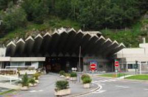 Mont Blanctunnel aan Franse zijde
